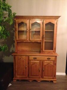 Buffet and hutch for sale- $150.00