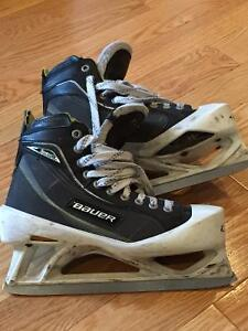 Bauer One80 size 7 Goalie skates good used condition