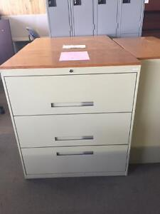 FILES, FILES, 3 HIGH LATERAL FILES ONLY $129.99 EACH USED
