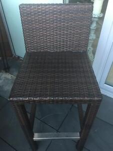 Cafe Ideas - Rattan Outdoor Bar Stools - IMMACULATE The Rocks Inner Sydney Preview