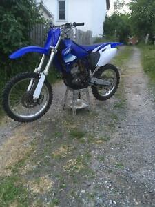 Yz250f trade for nice sled
