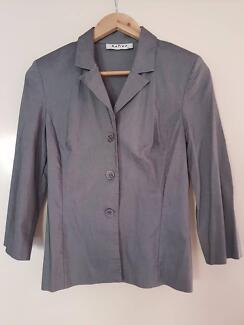 Grey business jacket for sale