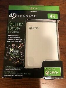Brand New Xbox GameDrive 4TB External Portable Harddrive