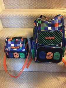 Lego backpack and matching lunch bag