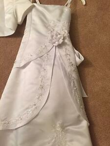 girls bridemaid dress