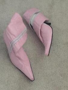 Hand Made Pink Boots for Sale