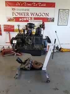 Classic Dodge Power Wagon & Farm Jeep Parts LOT ONE