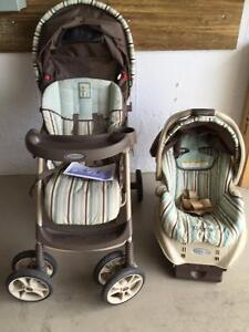 Graco Spree Stroller with Snugride Infant car seat