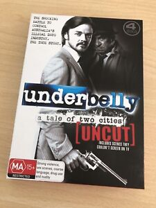 Underbelly - A tale of two cities - uncut / DVD set Adelaide CBD Adelaide City Preview