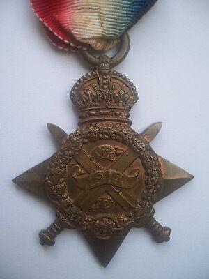 1914 Star Medal Obverse