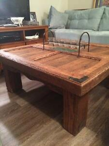 Hand-crafted Mexican coffee table