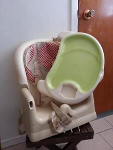 chaise haute portatif