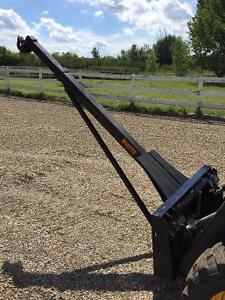 Skid Steer Attachment Extenable  Lifting boom 6ft to 10ft