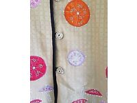Indigo Moon Jacket Size SMALL - in Pale Gold - Embroidered Parasols