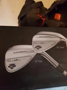 Brand new right hand sand and gap wedge