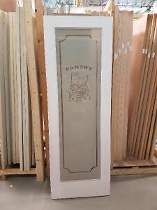 Primed Pantry Door
