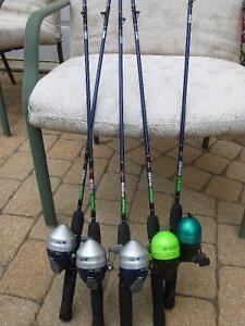 5 Kits de pêche pour les enfants « Pêche en herbe » « ZEBCO ».