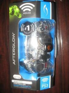 PDP Afterglow Wireless Controller for Sony PlayStation PS3. Comptible with PC Computer / Game System / Desktop. Gaming