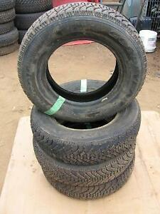 4 used goodyear winter tires Nordic  185/75r14 reference AAA20