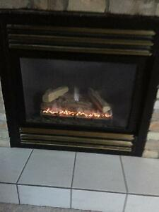 Winter is Coming. Gas fireplace for sale