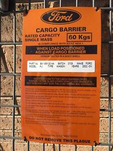 Ford Cargo Barrier for wagon 2002 onwards Singleton Singleton Area Preview