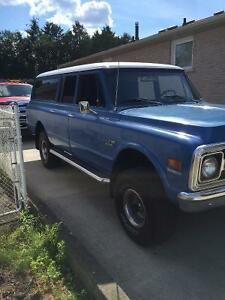 1972 3 door 4x4 surburban or trade for convertible
