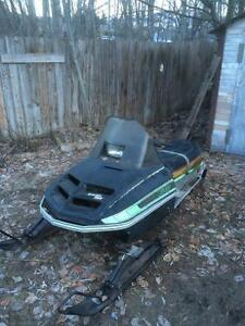 Trade two old sleds