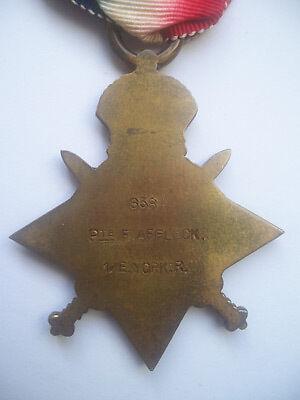 1914 Star Medal Reverse