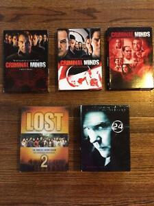 TV Series DVD Box Sets - Criminal Minds, Lost, 24, and many more