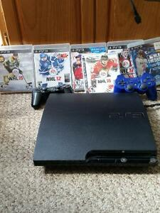Ps3, 2 controllers and 7 games