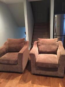 Couch and 2 armchairs from Bad Boys London Ontario image 3