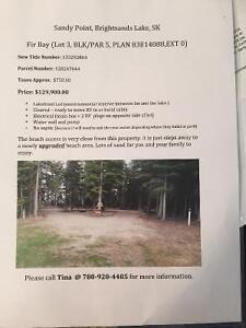 Lakefront lot for sale at Brightsands