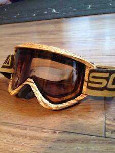 Scott Ski Goggles, wooden design.