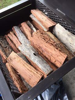 Double-Split Smoker Wood - BBQ Smoker Pellets - Charcoal