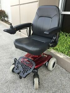 SHOPRIDER PORTABLE WHEELCHAIR USED ONLY 2 WEEKS