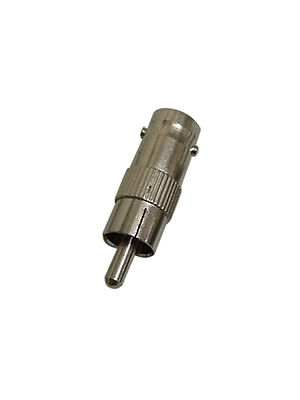 BNC Female Jack to RCA Male Plug Adapter Connector