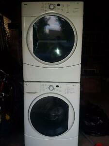 Kenmore HE2 Plus Stacking Washer and Dryer Strathcona County Edmonton Area image 1