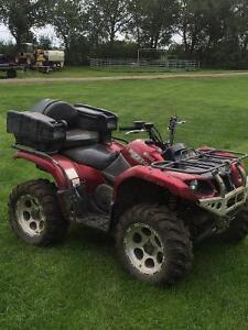 Yamaha grizzly quad