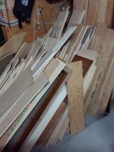 Asorted plywood