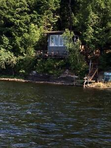 WATERFRONT LOT AND BUNKIE ON KENNEBEC LAKE