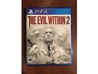 the evil within 2 PS4 boxed with insert V good condition