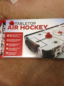 Tabletop Air Hockey $30