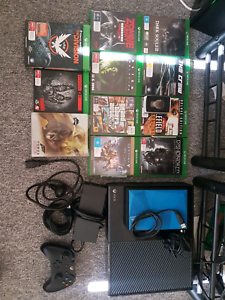 Xbox 1 + games and external hard drive Northgate Brisbane North East Preview