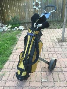 Ladies Golf Clubs & Cart
