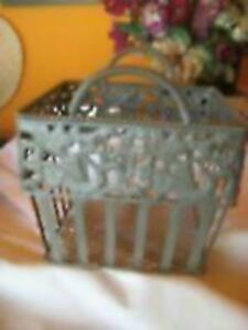 Vintage Wire Basket--$15.