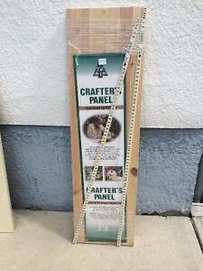 """PAIR OF AFA CRAFTER PANELS (10"""" X 36"""") BRAND NEW IN PKG ($10 ea)"""