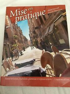 French textbook: Mise en Practique