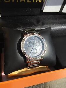 Stuhrling Diamond Studded Watch Downtown-West End Greater Vancouver Area image 2