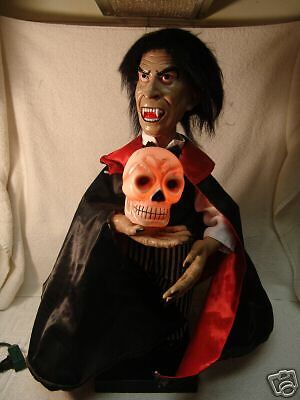 OLDER TELCO MOTION DRACULA W/LIGHTED SKULL 1989 WOW