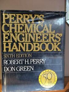 Perry's Chemical Engineers Handbook, 6th Edition